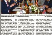 Münster und Monastir feiern goldene Hochzeit